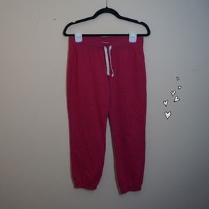 Red Old Navy Sweatpants